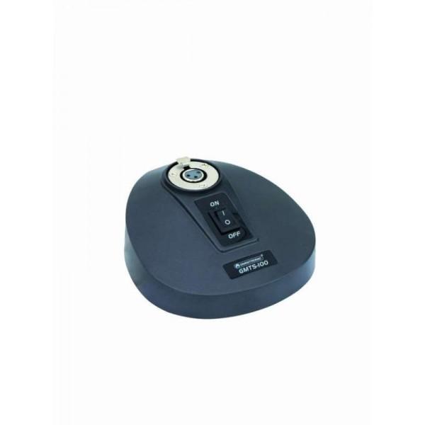 Держатель (подставка) для конференц микрофона OMNITRONIC GM-200 - GMTS-100 Mic table stand XLR