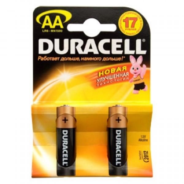 Элемент питания DURACELL LR6/MN1500 4BR