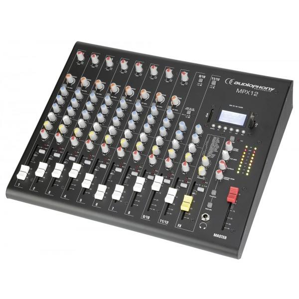 Микшерный пульт Audiophony MPX12
