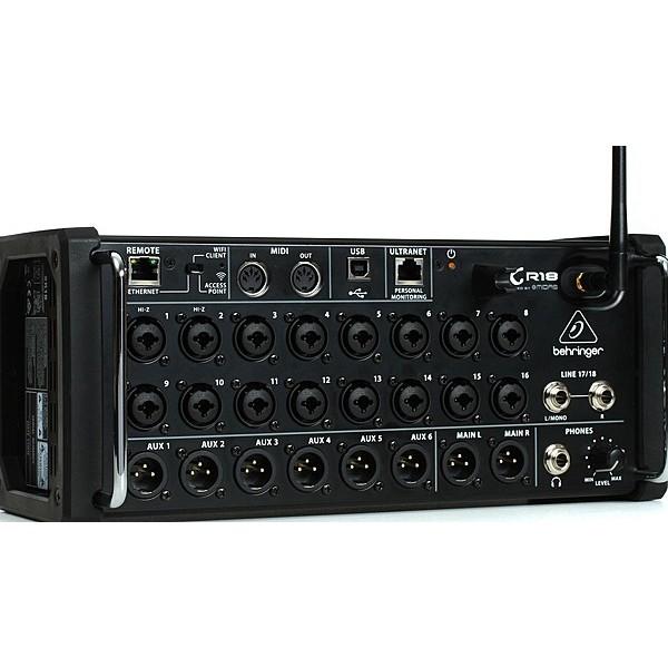 Цифровой микшерный пульт Behringer XR18