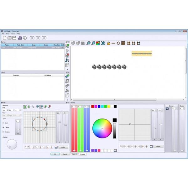 Программа управления световыми приборами BRITEQ LD-1024EASY+DMX Interface 1024ch/4MB