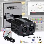 Программа управления световыми приборами Briteq LD-1024BOX DMX Interface 1024ch/300kB