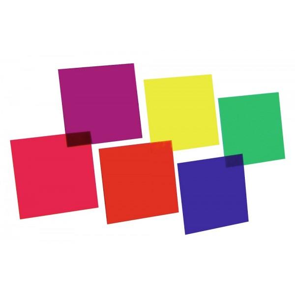 Набор светофильтров EUROLITE Color-Foil Set 24x24cm,six colors
