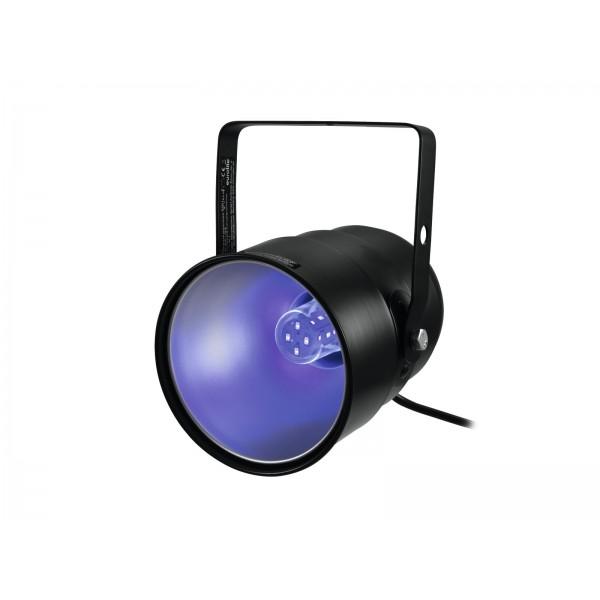 Ультрафиолетовый светильник EUROLITE UV-Spot with UV LED 5W