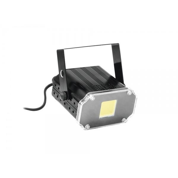 Стробоскоп EUROLITE LED Disco Strobe COB white, sound