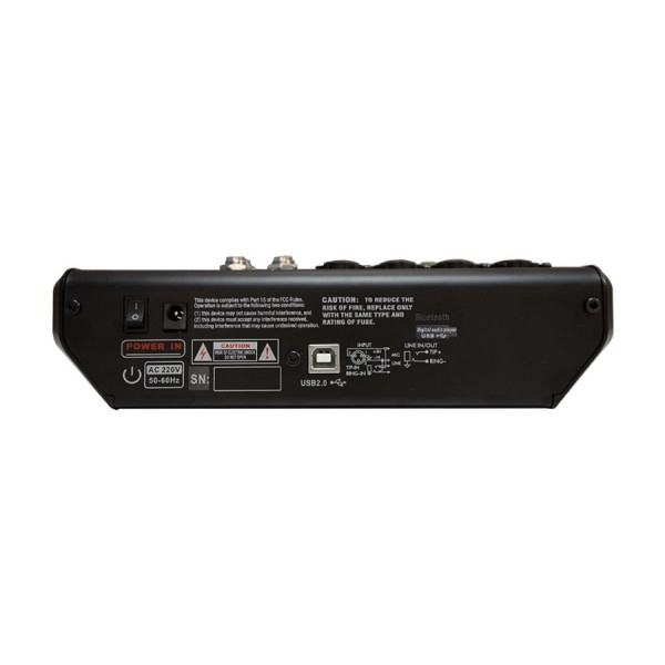 Микшерный пульт MARK MINI MAX FX USB BT