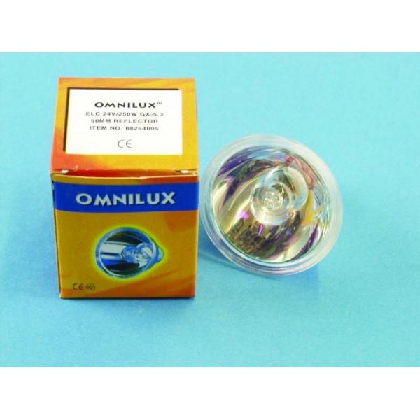 Галогеновая лампа Omnilux ELC 24V/250W 50H