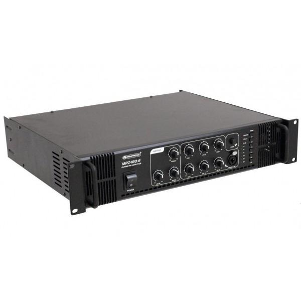 Трансляционный микшер-усилитель OMNITRONIC MPVZ-180.6