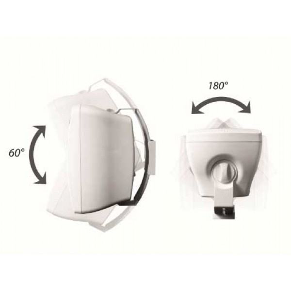 Громкоговорители OMNITRONIC OD-4T Wall speaker 100V white/black 2x