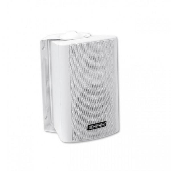 OMNITRONIC WP-4W PA Wall Speaker White - это двухполосный настенный громкоговоритель