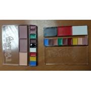 Грим жировой классический палитра 12 цветов