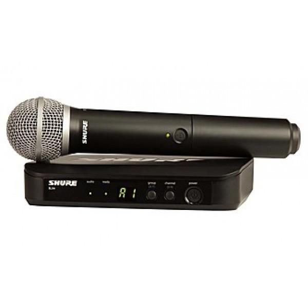 Радиосистема вокальная Shure BLX24/PG58