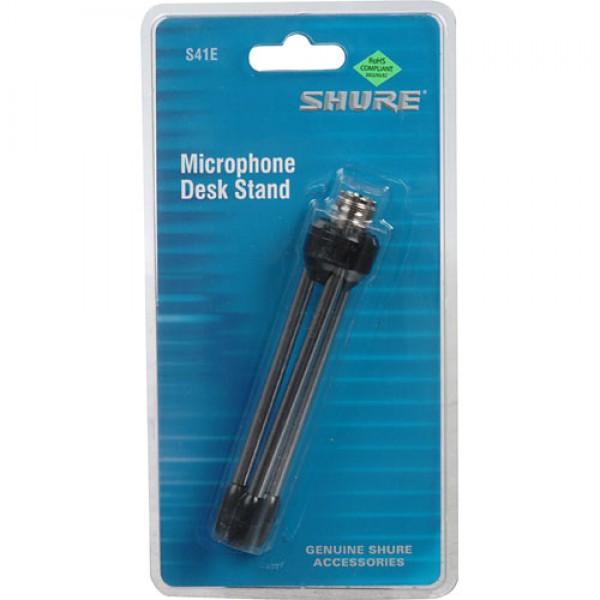 Настольная подставка для микрофона на трех ногах Shure S41E