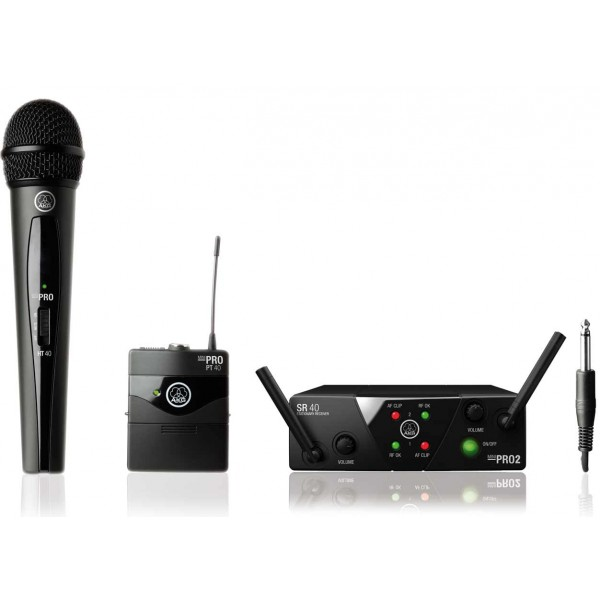 РАДИОСИСТЕМА AKG WMS40 MINI2 MIX SET BD  ISM2/3