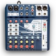 МИКШЕРНЫЙ ПУЛЬТ SOUNDCRAFT NOTEPAD-8FX